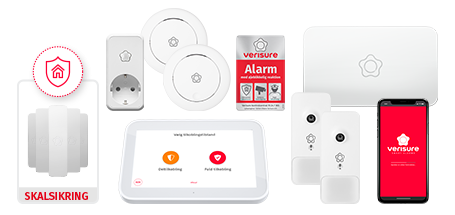 Verisure Home Plus GSM alarm