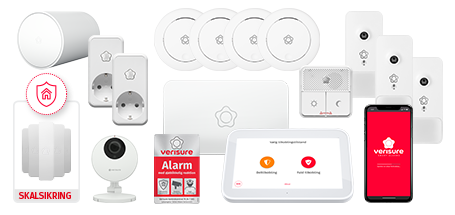 Verisure Home Total GSM alarm